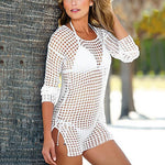 Hollow Crochet | Beach Cover-Up