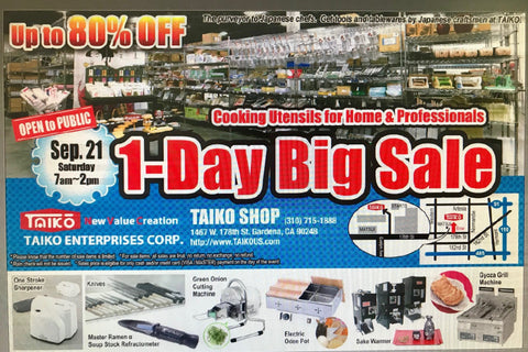 1-Day Big Sale