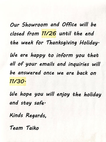 Store and Office Holiday Schedule