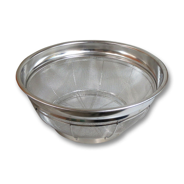 Stainless Steel Rice Colander Shallow