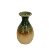 Ceramic Sake Bottle Iga-oribe