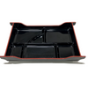 Lacquered Two-tone Banno Platter Black ABS
