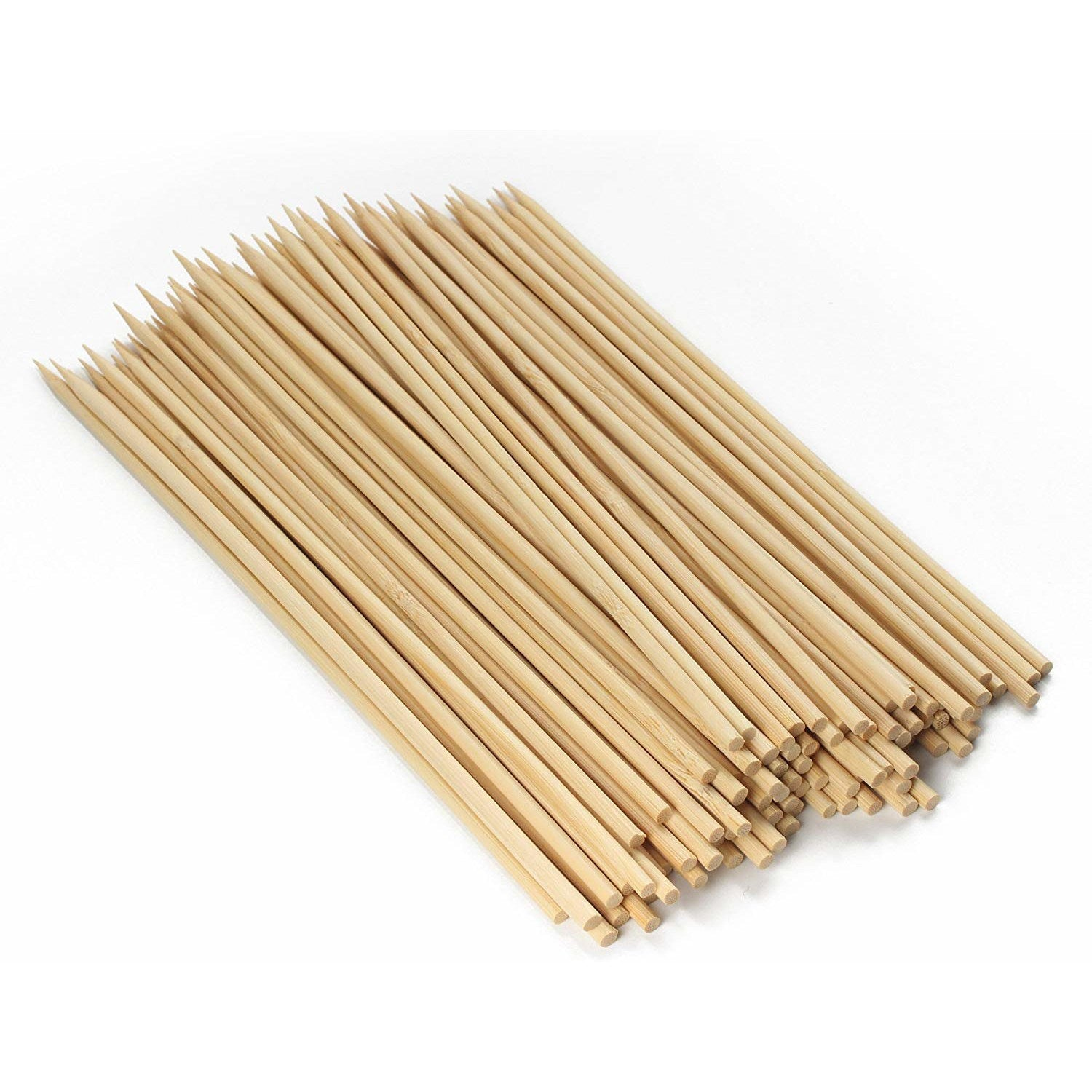 "Bamboo Skewers Round 150mm/6.0"" 20/PK"