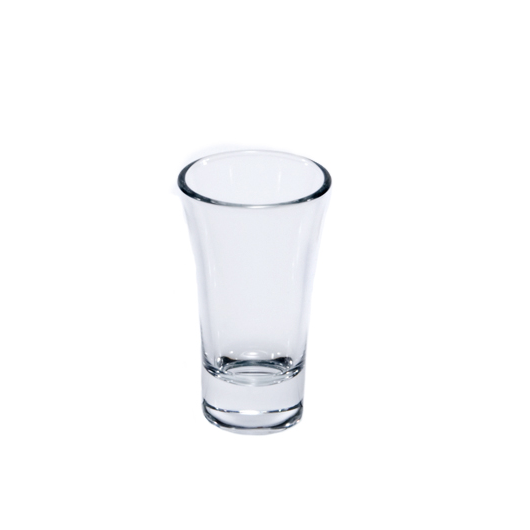 Glass Sake Cup Clear GHC-7 H90mm / 3.5""