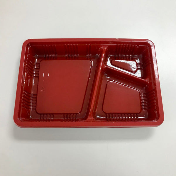 Takeout/To-go Container KS-8A Bento Box with Flat Lid (100/Pack)