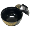 "Lacquered Soup Bowl w/Lid ""Taho-Irogami"" ABS"