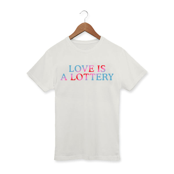LOTTERY NATURAL T-SHIRT