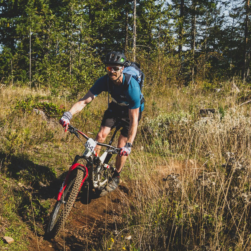 Ian uses Loam Goat brake pads around Pemberton, British Columbia, Canada