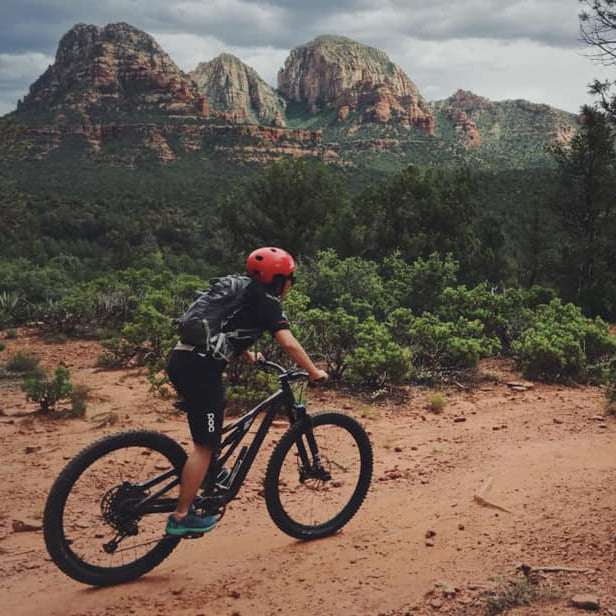 Josephine is a new rider and she rides in Vancouver, British Columbia and Sedona, Arizona