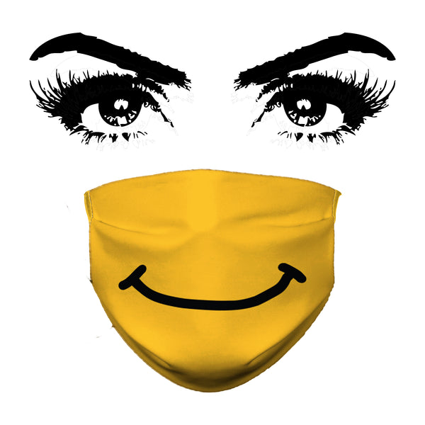 Smiley - Face Mask