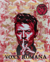 """David Bowie - Red Riot"" by Voxx Romana"