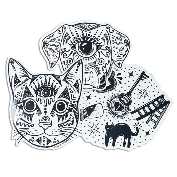 Stickers by EMILY NADIRA