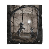 """Equus"" Fleece Blanket by McMONSTER"