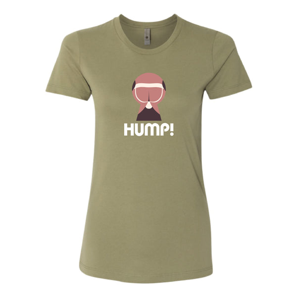 """Ass"" Ladies Tee by HUMP!"