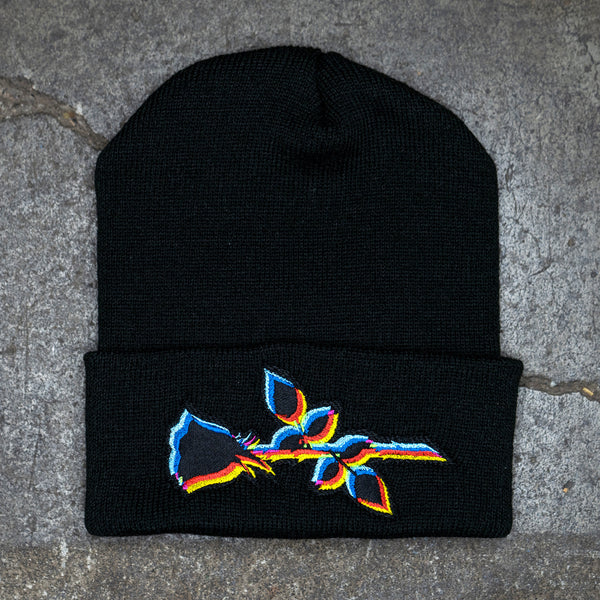 """Rose"" Beanie by IRON GLACIER"