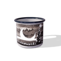 """Lunar Horizon"" Camping Mug by McMONSTER"