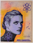 """Natalia Vodianova - Purple"" by Voxx Romana"
