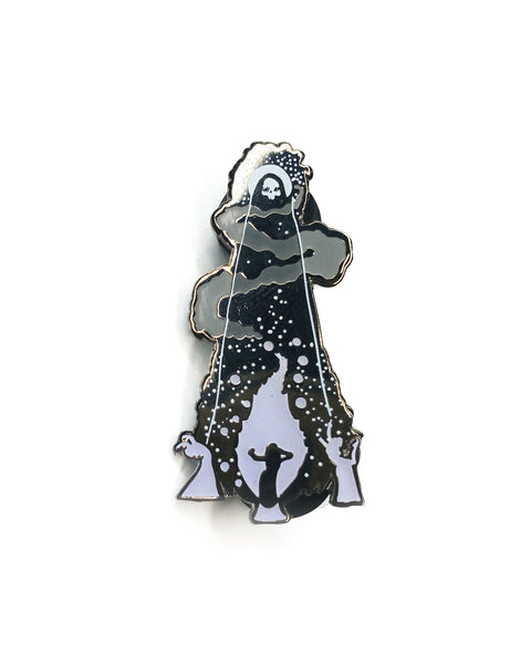 """Let Me In"" Pin by MCMONSTER PIN"