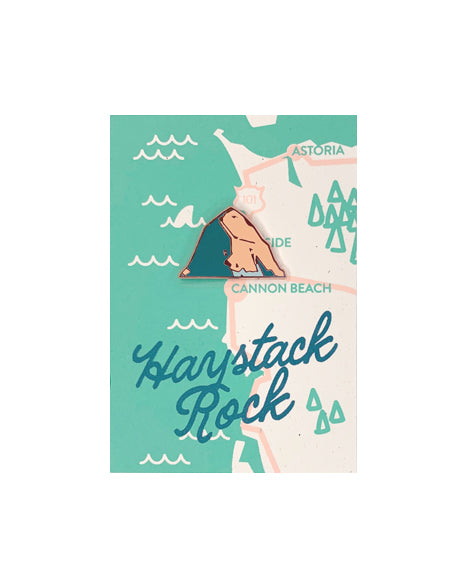 """Haystack Rock"" Pin by GW"