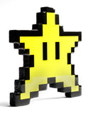 """You're Invincible"" Super Mario Star Pixelated, Resin Coated Wood Cutout by PIXEL PARTY"