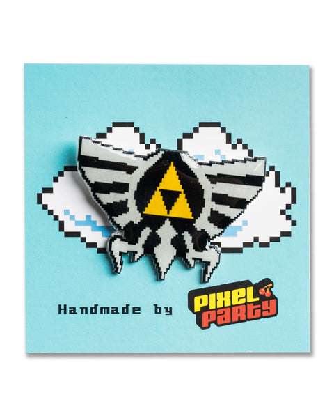 """Hyrule"" Legend of Zelda Pin by PIXEL PARTY"