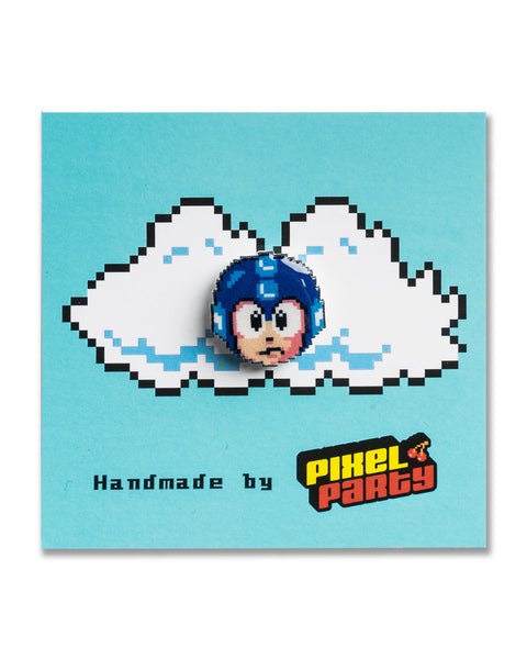 """Mega Man"" Mega Man Pin by PIXEL PARTY"
