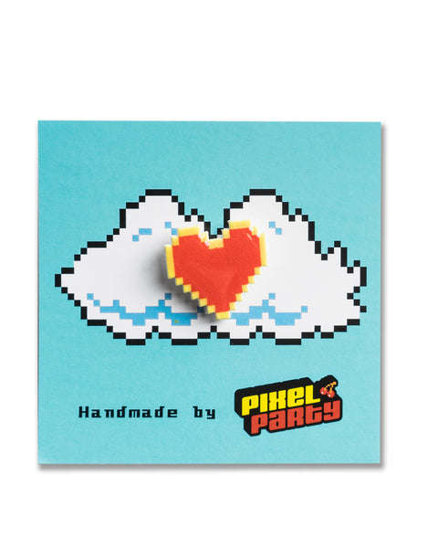 """Heart"" Legend of Zelda Pin by PIXEL PARTY"