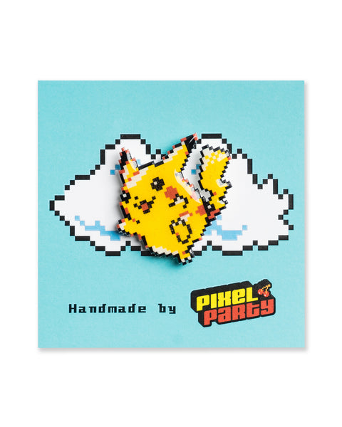 """Pikachu"" Pokemon Pin by PIXEL PARTY"