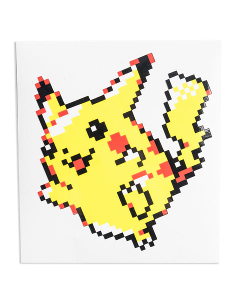 """Pikachu"" Sticker by PIXEL PARTY"