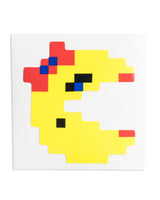 """Ms. Pac-Man"" Pac-Man Sticker by PIXEL PARTY"
