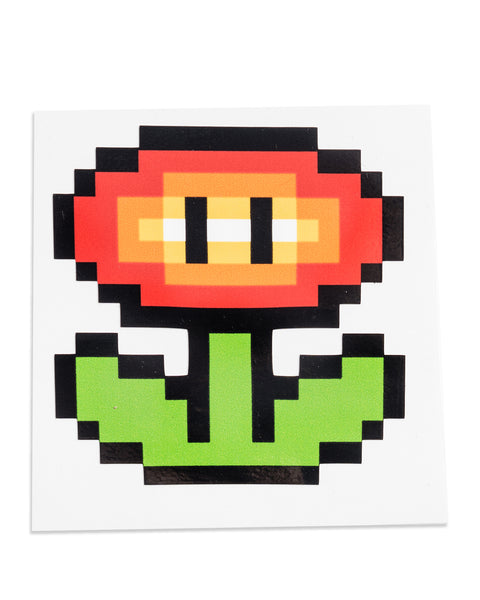 """Power Ups"" Super Mario Sticker Pack by PIXEL PARTY"