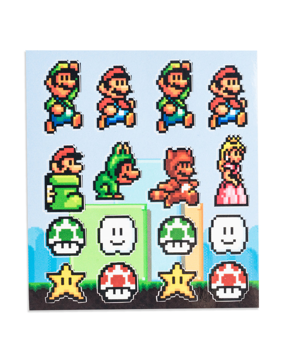 quot you re a quot mario sticker sheets by pixel