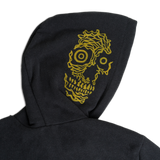 """Memento Mori"" Hoodie by RX SKULLS X GENUINELY WHATEVER"