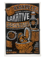"""Orange Flavored Laxatives"" by RX SKULLS"
