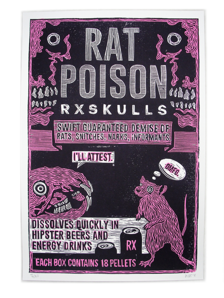"""Rat Poison"" by RX SKULLS"