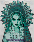 """Sun Crown - Green"" by Voxx Romana"