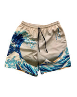 """Japanese Wave"" Swim Trunks by GW"