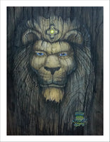 """Wood Lion"" by WISE LION"