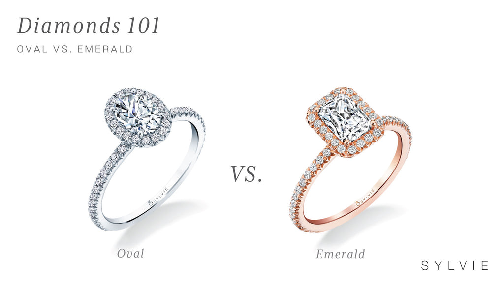 OVAL VS. EMERALD, WHICH SHOULD YOU CHOOSE?
