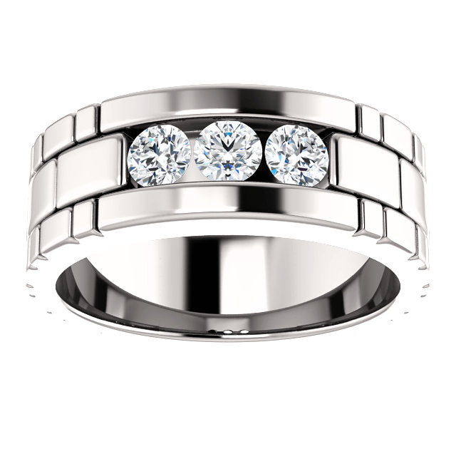 Men's Diamond Wedding Band