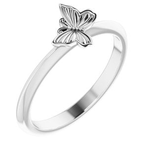 Butterfly Stacking Ring