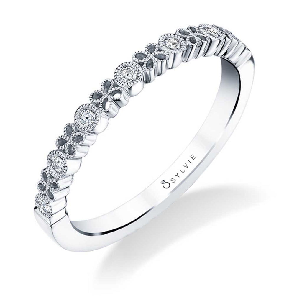 Sylvie Josephine Stackable Diamond Band