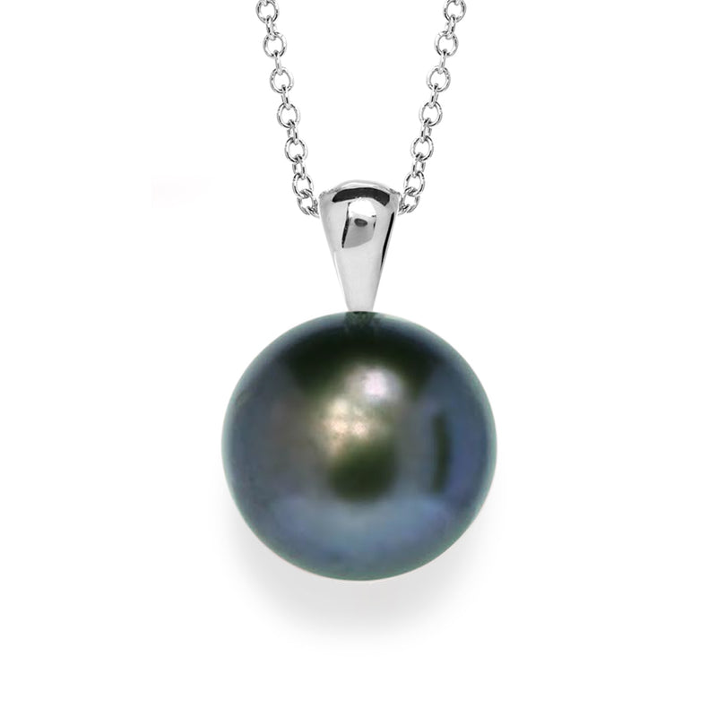Galatea Button Momento Pearl Necklace