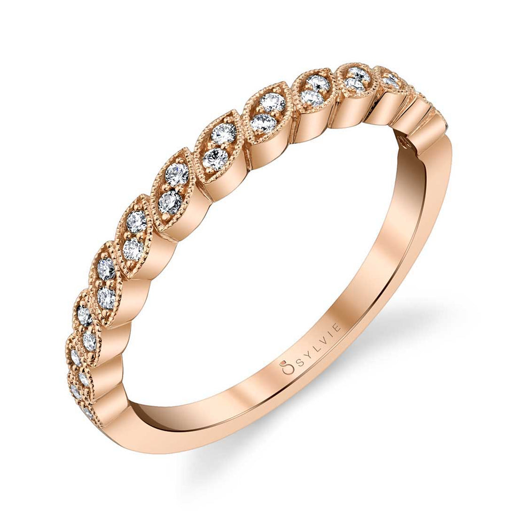 Sylvie Tara Stackable Diamond Band