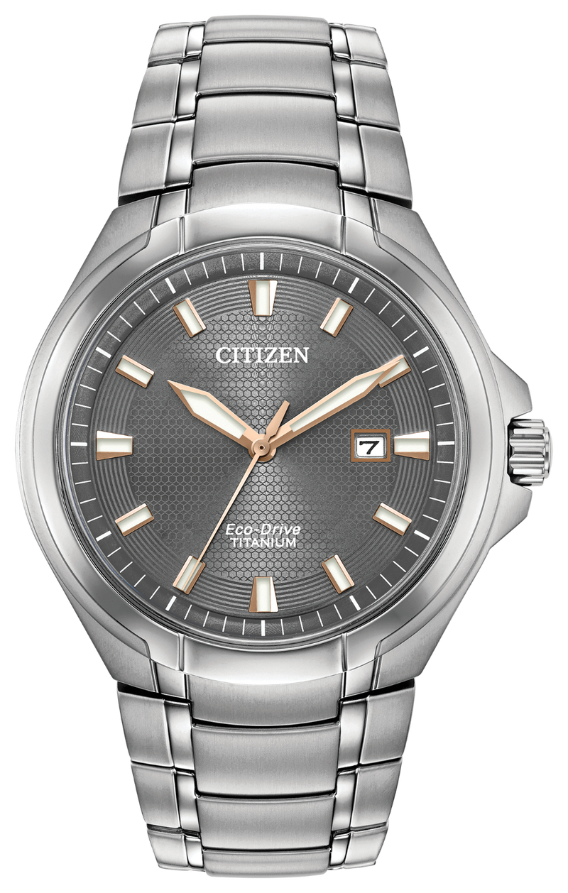 Mens Paradigm Titanium Citizen Watch