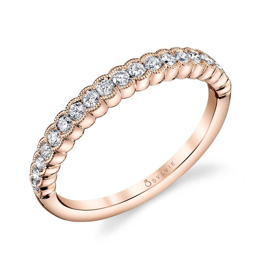 Sylvie Angeline Stackable Diamond Band