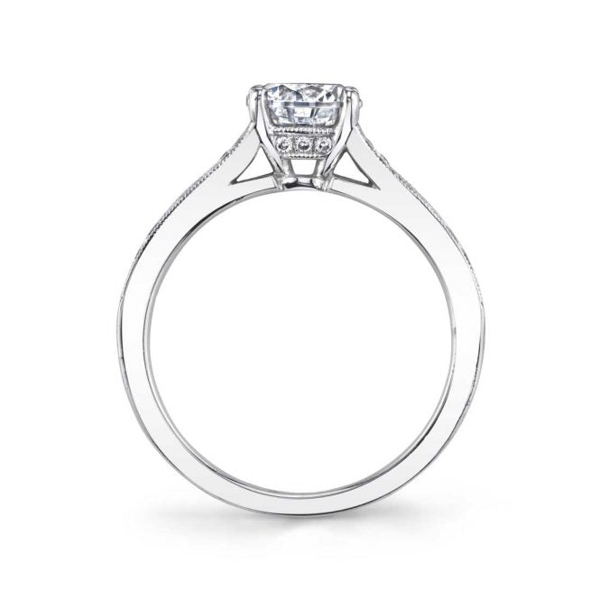 Sylvie Chereen Vintage Engagement Ring