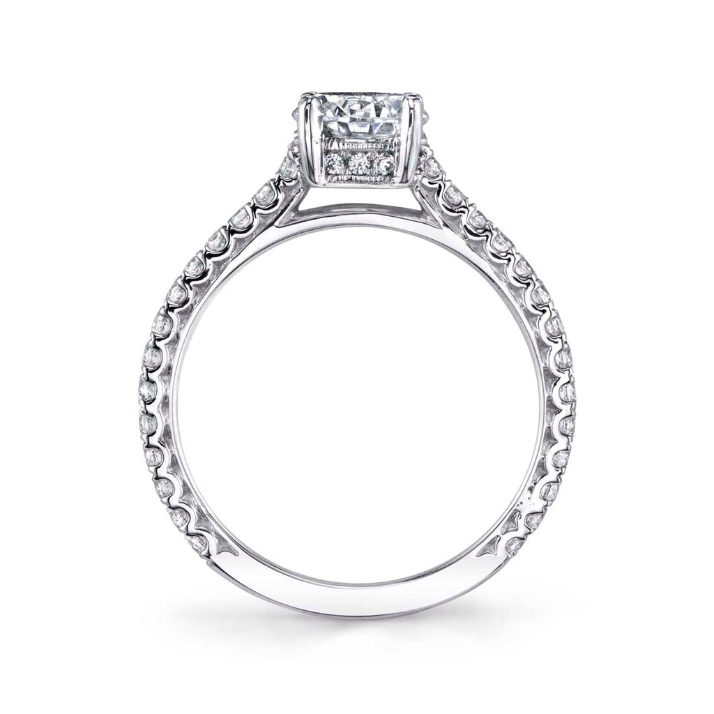 Sylvie Stella Classic Engagement Ring