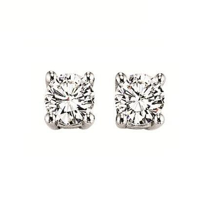 2 Ct TW Diamond Stud Earrings