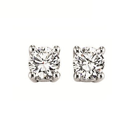 3/8 Ct TW Diamond Stud Earrings